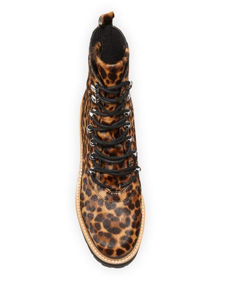 Marc Fisher LTD Izziely Leopard Hiker Boots