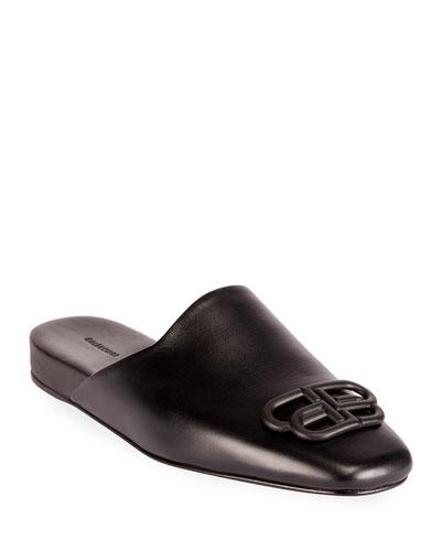 Cosy BB Flat Carrera Leather Mules