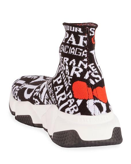 Balenciaga Speed Printed Chunky Sneakers