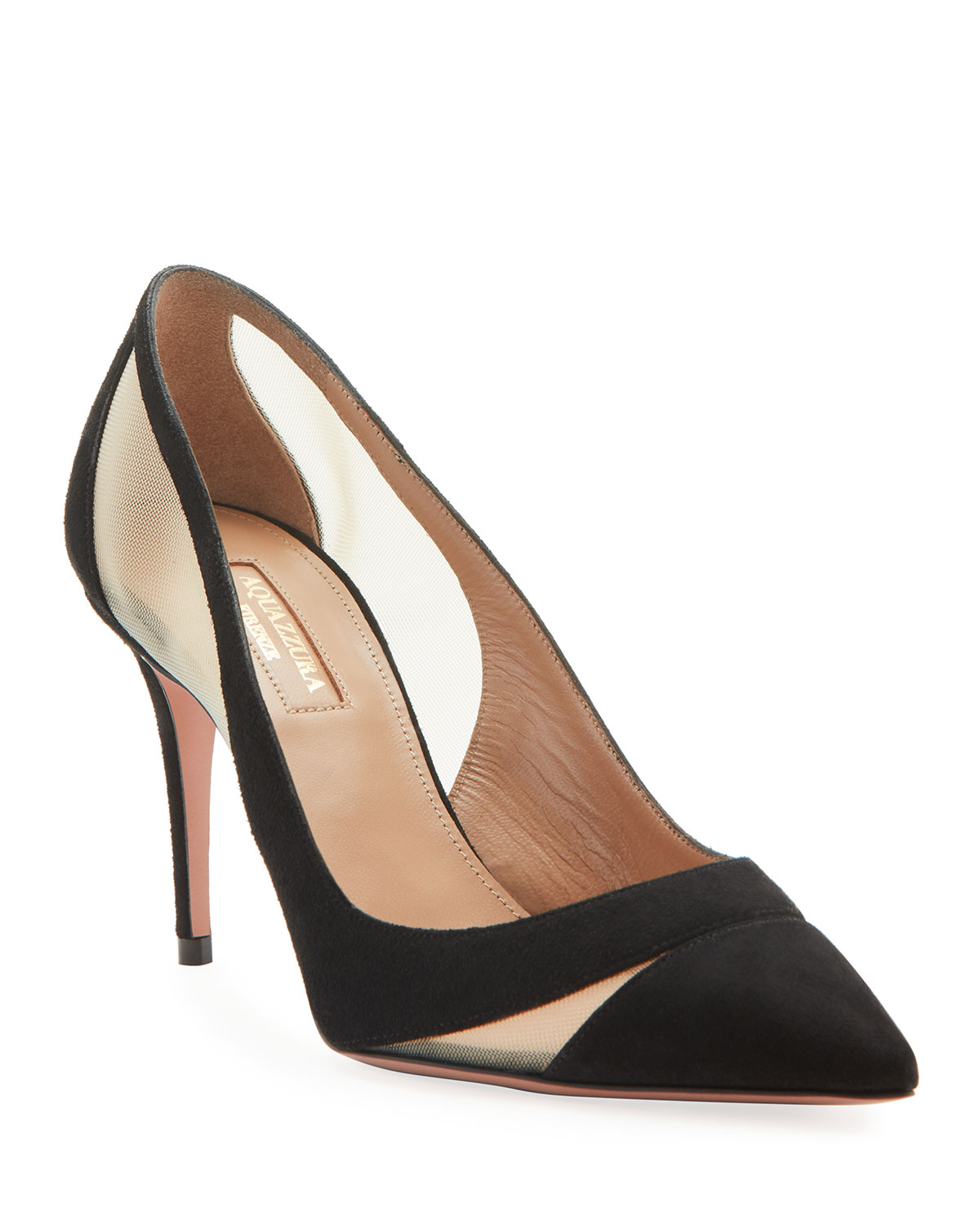 savoy-suede-pointed-pumps by aquazzura