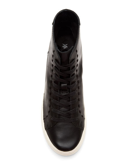 Frye Lena High-Top Lace-Up Sneakers