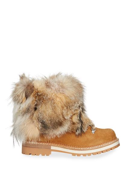 Montelliana 1965 Seicento Fox Fur Chunky Boots