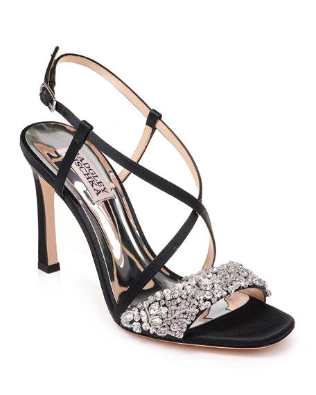Elana Satin Sandals