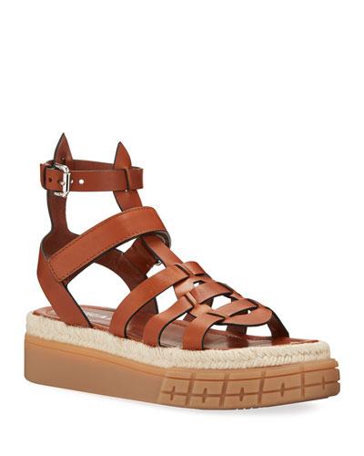 45mm High Gladiator Sandals