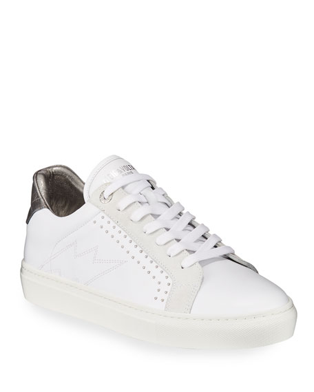 zv1747-low-top-sneakers by zadig-&-voltaire