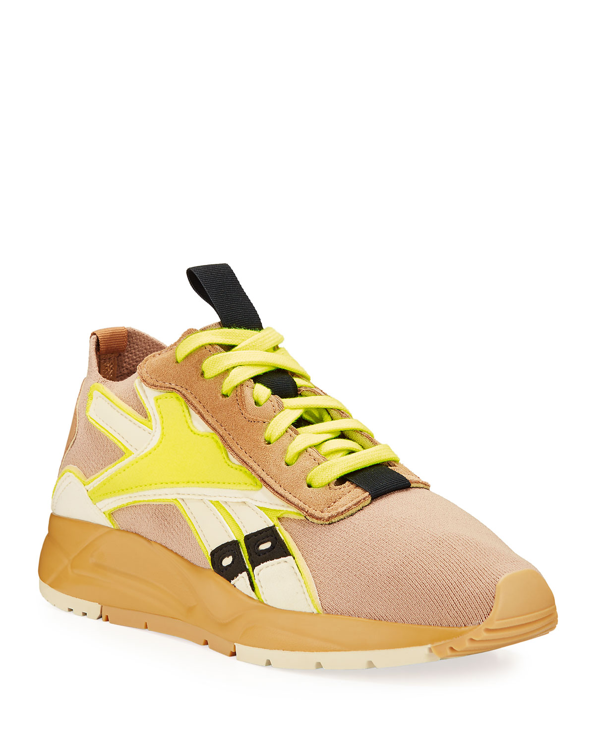 Bolton Sock Lace Up Sneakers by Reebok By Victoria Beckham