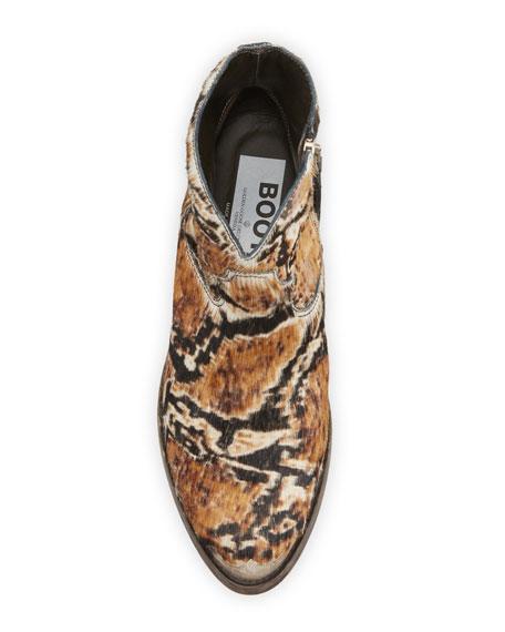 Golden Goose Young Snake-Print Calf Hair Boots