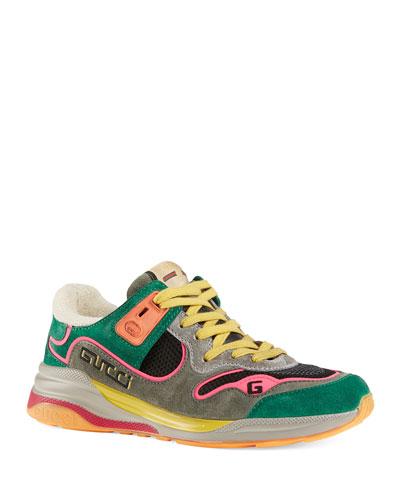 G Line Suede Sneakers