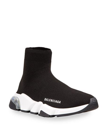 Balenciaga Contrast Logo Speed Sock