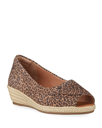 Luci Easy Open Wedge Espadrille Sandals