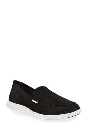 Cole Haan Ella Nubuck Slip-On Loafers