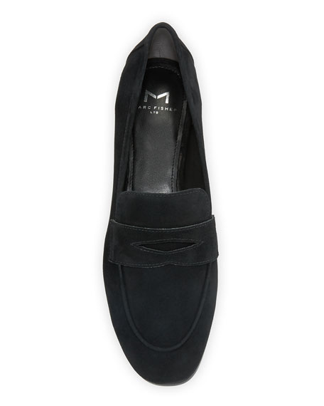 Marc Fisher LTD Chang Suede Penny Loafers