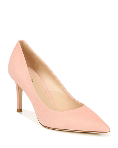 Cloe Pointed-Toe Suede Pumps