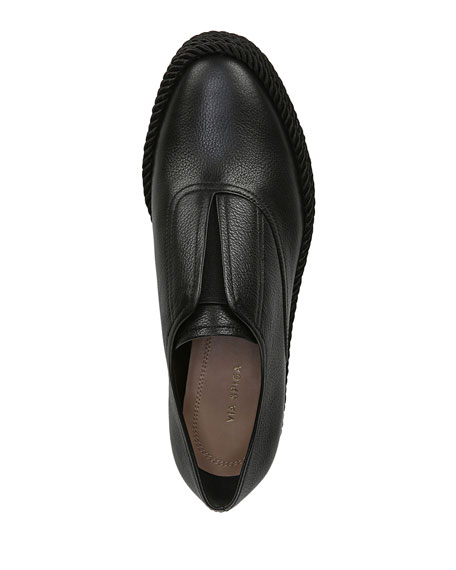 Via Spiga Berta Leather Espadrille Loafers