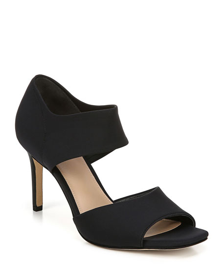 Via Spiga Tamie Stretch Ankle-Cuff Sandals