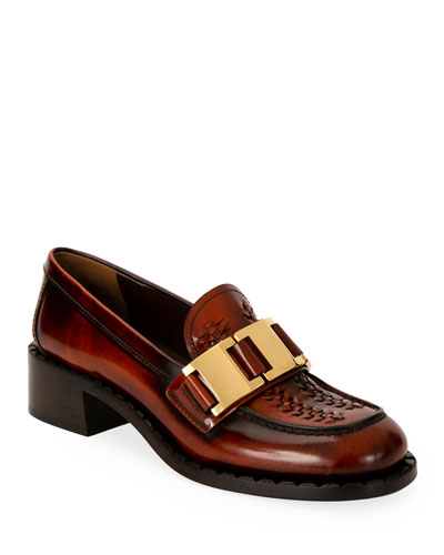 40mm Leather Loafers