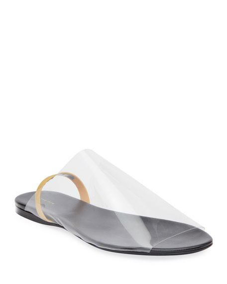 Image 1 of 3: THE ROW Clear Sandals