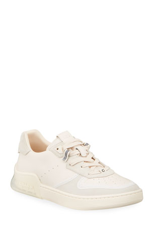 Coach Citysole Suede/Leather Court Sneakers