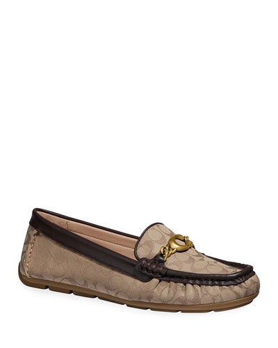Maegan C Chain Driver Loafers
