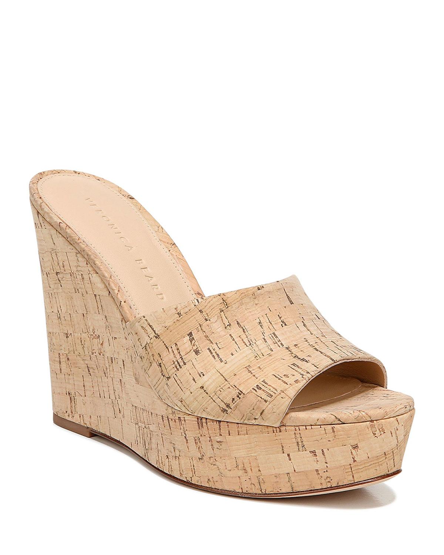 cork platform wedge sandals