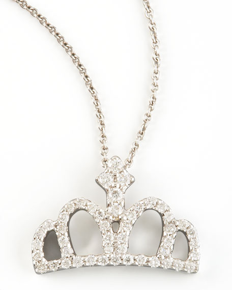1493 DIAMOND CROWN NECKLACE