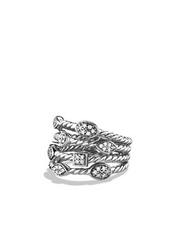 David Yurman 4-Row Confetti Ice Ring