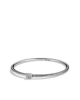 David Yurman Confetti Bangle with Diamonds