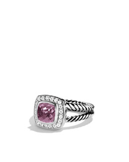 David Yurman Petite Albion Ring with Lavender Amethyst