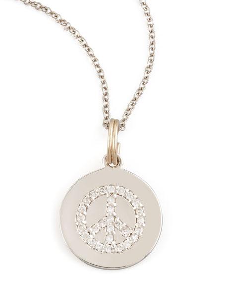 Peace Disc Necklace