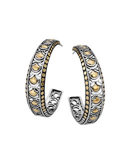 John Hardy Naga Large Hoop Earrings