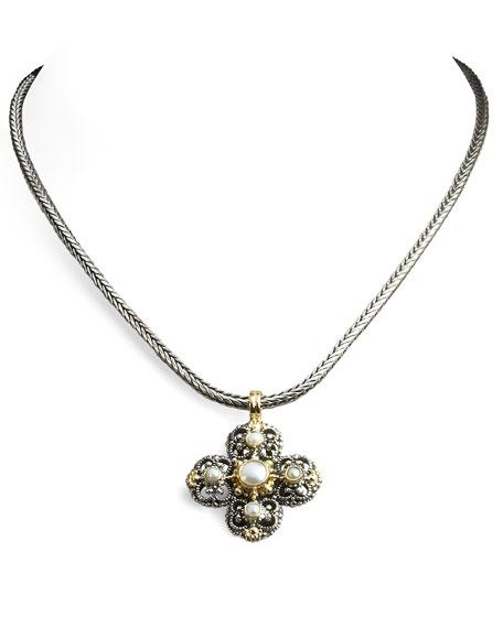 Melina Maltese Cross Pendant