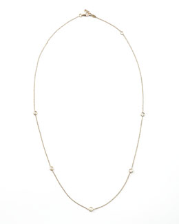 Roberto Coin Five-Station Diamond Necklace