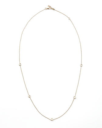Five-Station Diamond Necklace