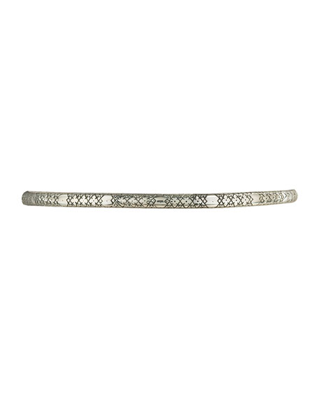 Astra Sterling Silver Bangle