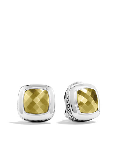David Yurman Albion Earrings with Gold Domes