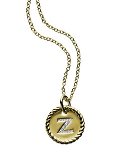 "David Yurman ""Z"" Necklace"
