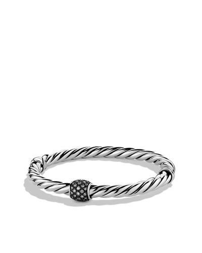 David Yurman Cable Classics Narrow Bracelet with Diamonds