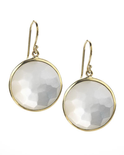 Ippolita Large Lollipop Earrings, Mother-of-Pearl