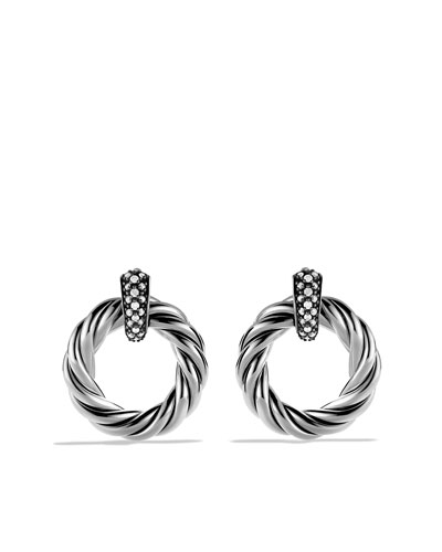 David Yurman Cable Classics Earrings with Diamonds