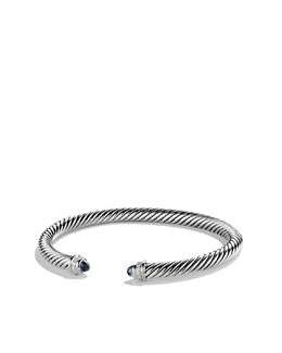 David Yurman 5mm Black Onyx Cable Classics Bracelet