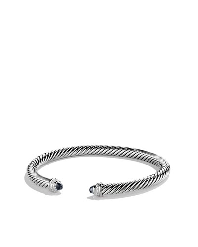 David Yurman 5mm Black Onyx Cable Classics Bracelet