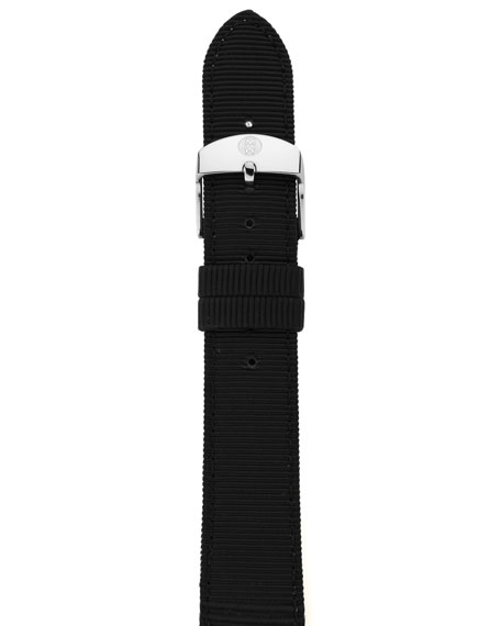 16mm Grosgrain Strap, Black