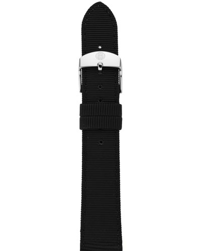 18mm Grosgrain Strap, Black