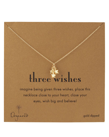Three-Wishes Star Necklace