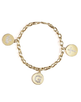 KC Designs Charm Bracelet, Yellow Gold