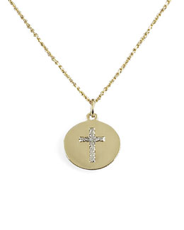 KC Designs Diamond Cross Charm