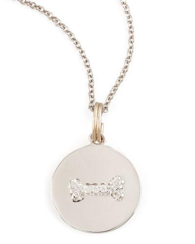 KC Designs Diamond Dogbone Charm