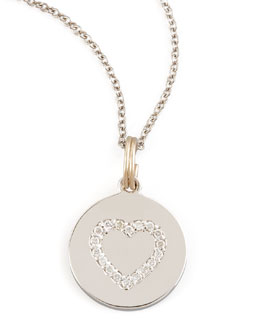 KC Designs Diamond Heart Charm