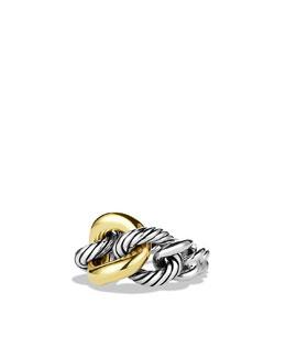 David Yurman Cordelia Narrow Ring with Gold