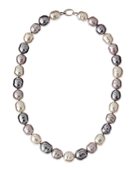 Majorica Mixed-Pearl Necklace